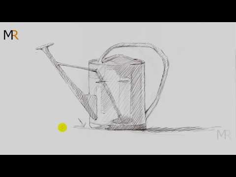 تعليم رسم طبيعه صامته مرش ماء Mr Fine Artist تعليم الرسم Youtube Glassware Tableware
