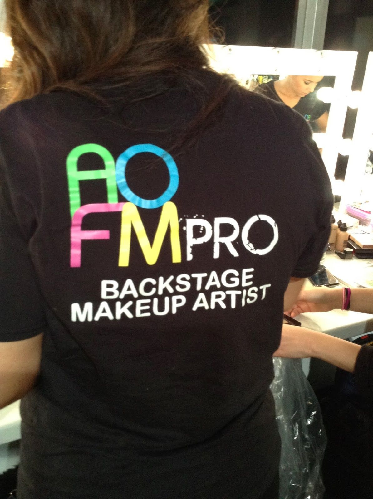 AOFM. Graduates from the prestigious Academy of Freelance Makeup (AOFM) along with Louise Dartford played an integral part in each of the shows.