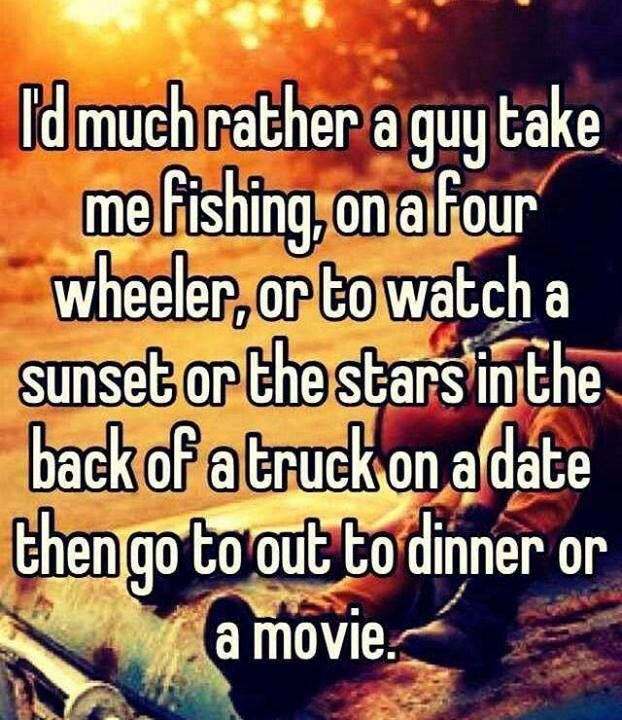 Ideal date for a guy