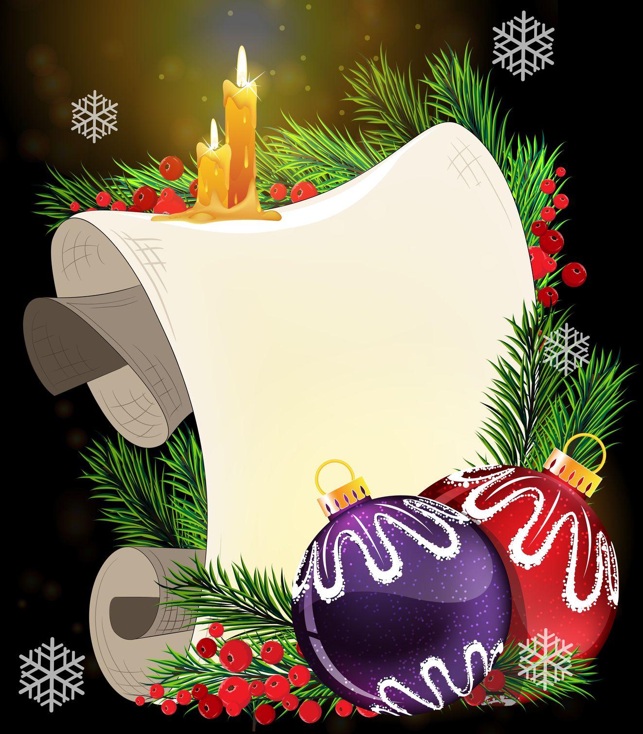 Tarjetas de navidad para escribir mensajes personalizados - Tarjetas felicitacion navidad ...