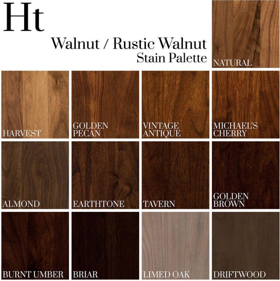 Walnut Rustic Walnut Stain Palette Dark Wood Stain Wood Floor Colors Staining Wood