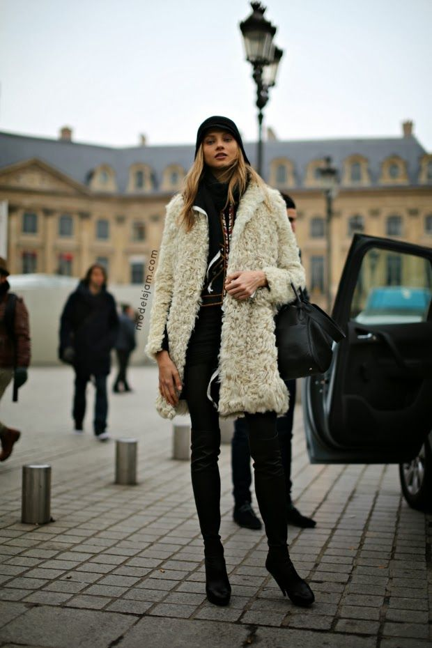 Anna Selezneva, Paris, March 2013