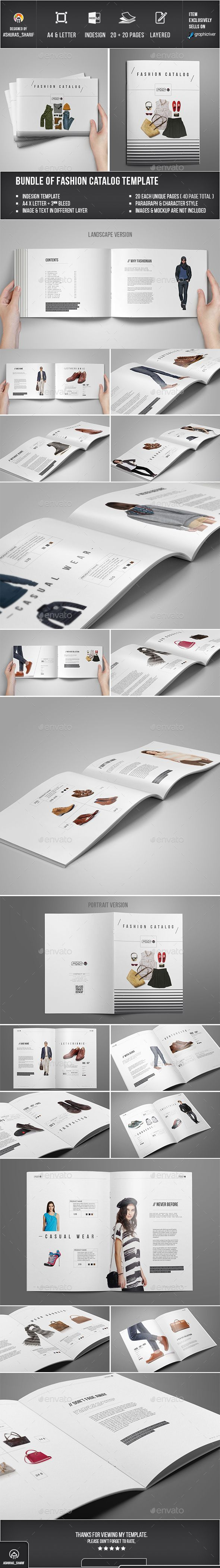 Product Catalog Template InDesign INDD. Download here: https ...