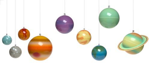 Glow In The Dark Solar System With