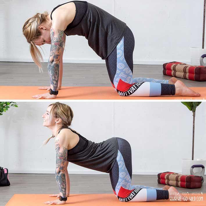 Unteren Rücken dehnen: 13 effektive Übungen zum Entspannen | sport ...