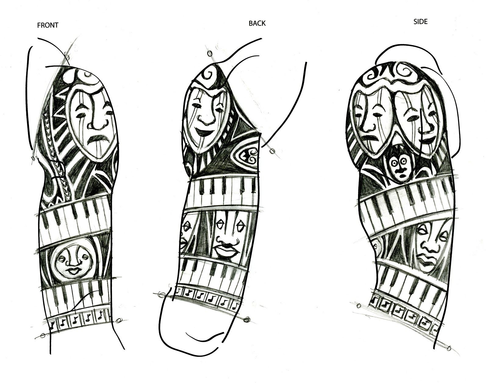 African Tribal Tattoo