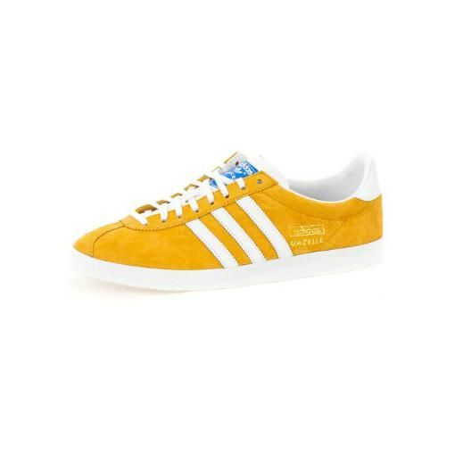adidas yellow gazelle