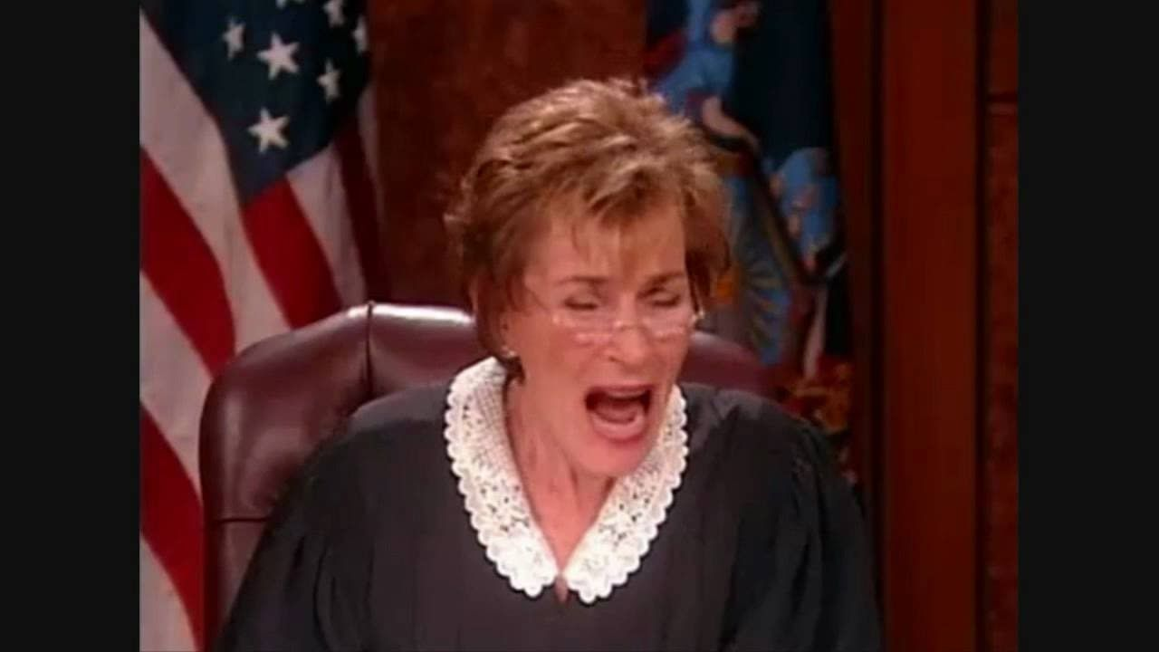 judge judy best angry moments #4 - youtube   judge judy