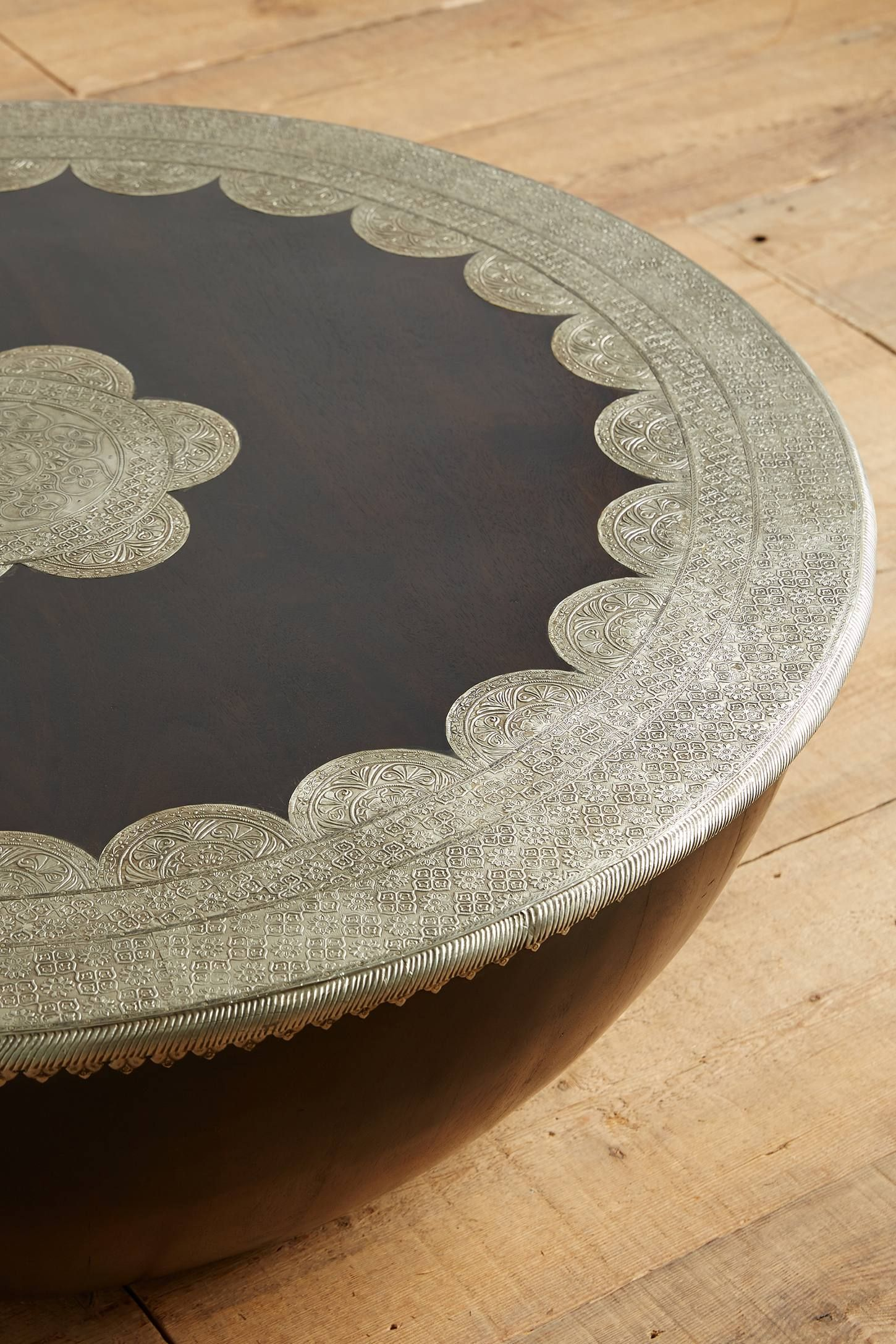 Embossed Meridian Coffee Table Anthropologie Com Unique Coffee