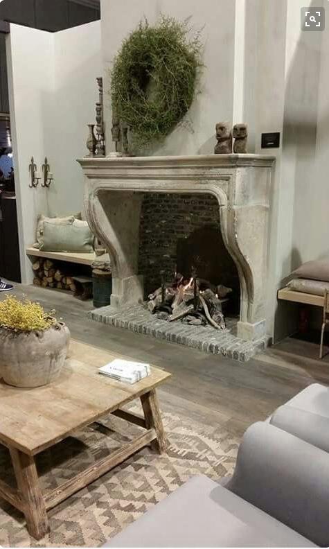 Pin Van Barbara Boxell Op Fireplaces Openhaard Ideeen Open