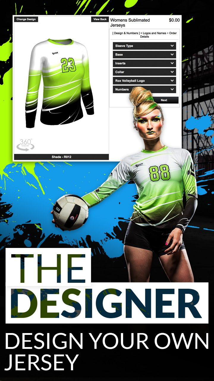 Customize Your Volleyball Jersey Using Our New 3d Designer Volleyball Jersey Design Volleyball Designs Jersey Design