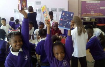 Give a Book comes to Rye Oak Primary!