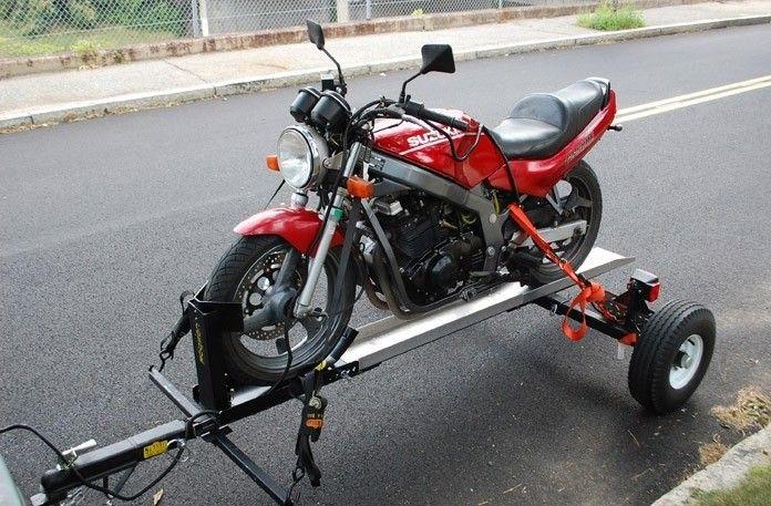 Pin By Kobie On Bike Trailers Motorcycle Trailer Motorcycle Carrier Bike Trailer