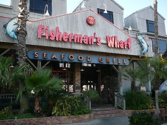 Fisherman S Wharf Late Night Fisherman S Wharf Galveston Restaurant Reviews Tripadvisor