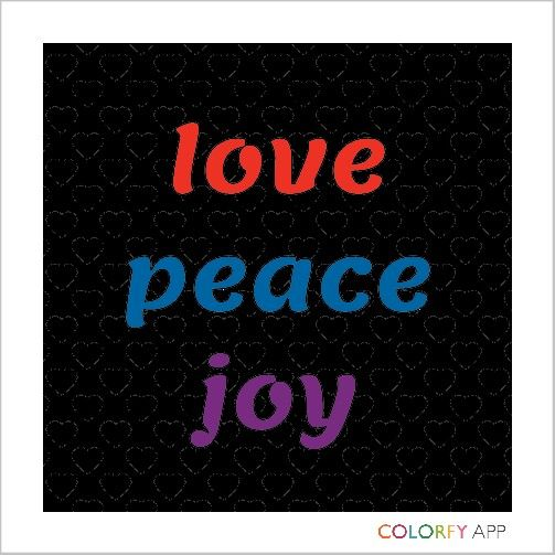 Pin by Analisa Therese on Analisa Peace, love, Colorfy