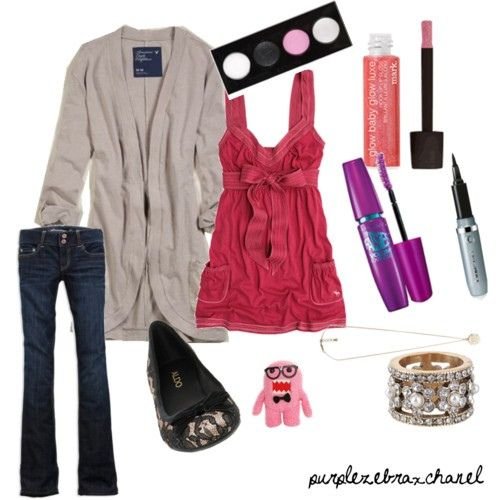 Cute Valentine S Day Outfit For School Fashion Pinterest