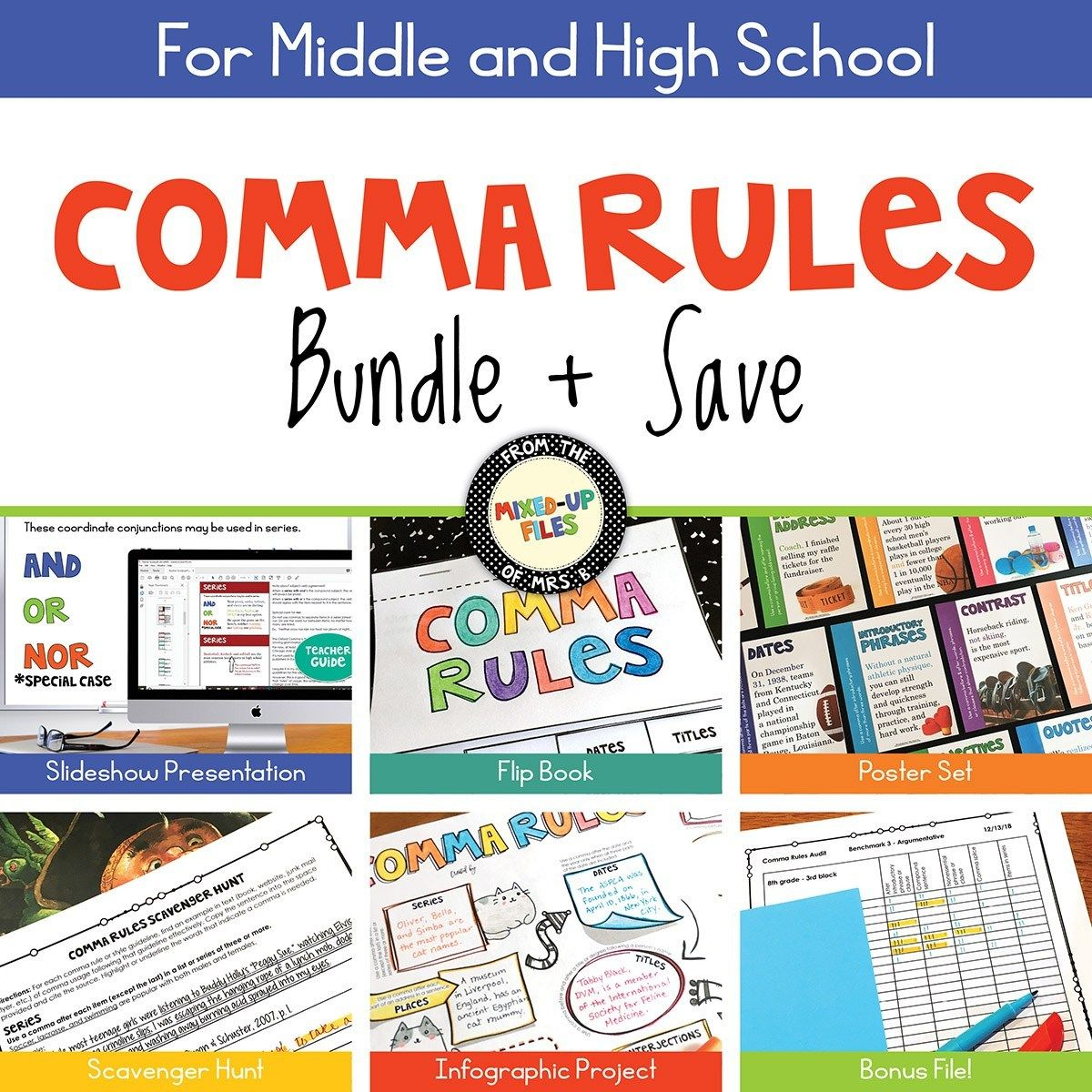 Comma Rules Bundle And Save