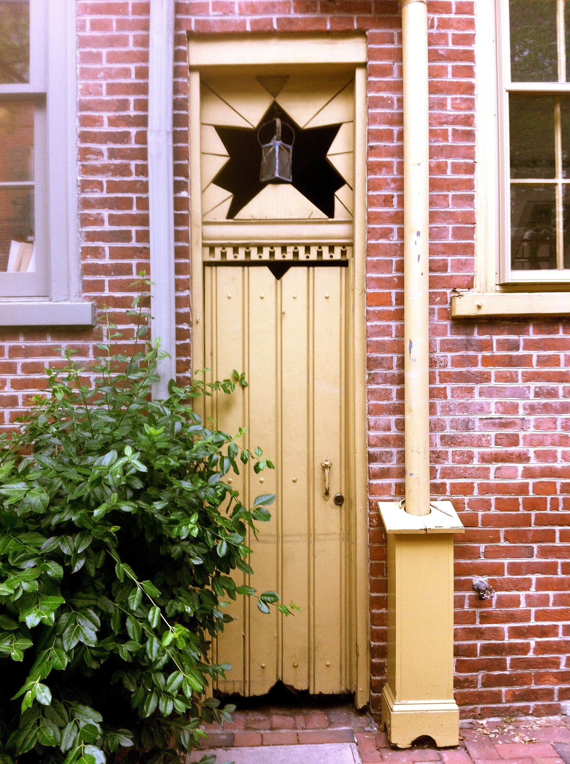 Four Cool Doors in Old City Philadelphia. Yellow Star Door & Four Cool Doors in Old City Philadelphia. Yellow Star Door ...