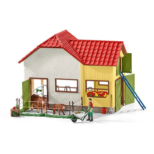 Pin By Shop Of Toys Australia On Pretend Play Sets Schleich Barn Animals Barn