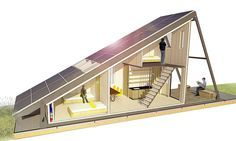 Solar Cabin is one of six winners of the Home Away from Home design competitionu2026