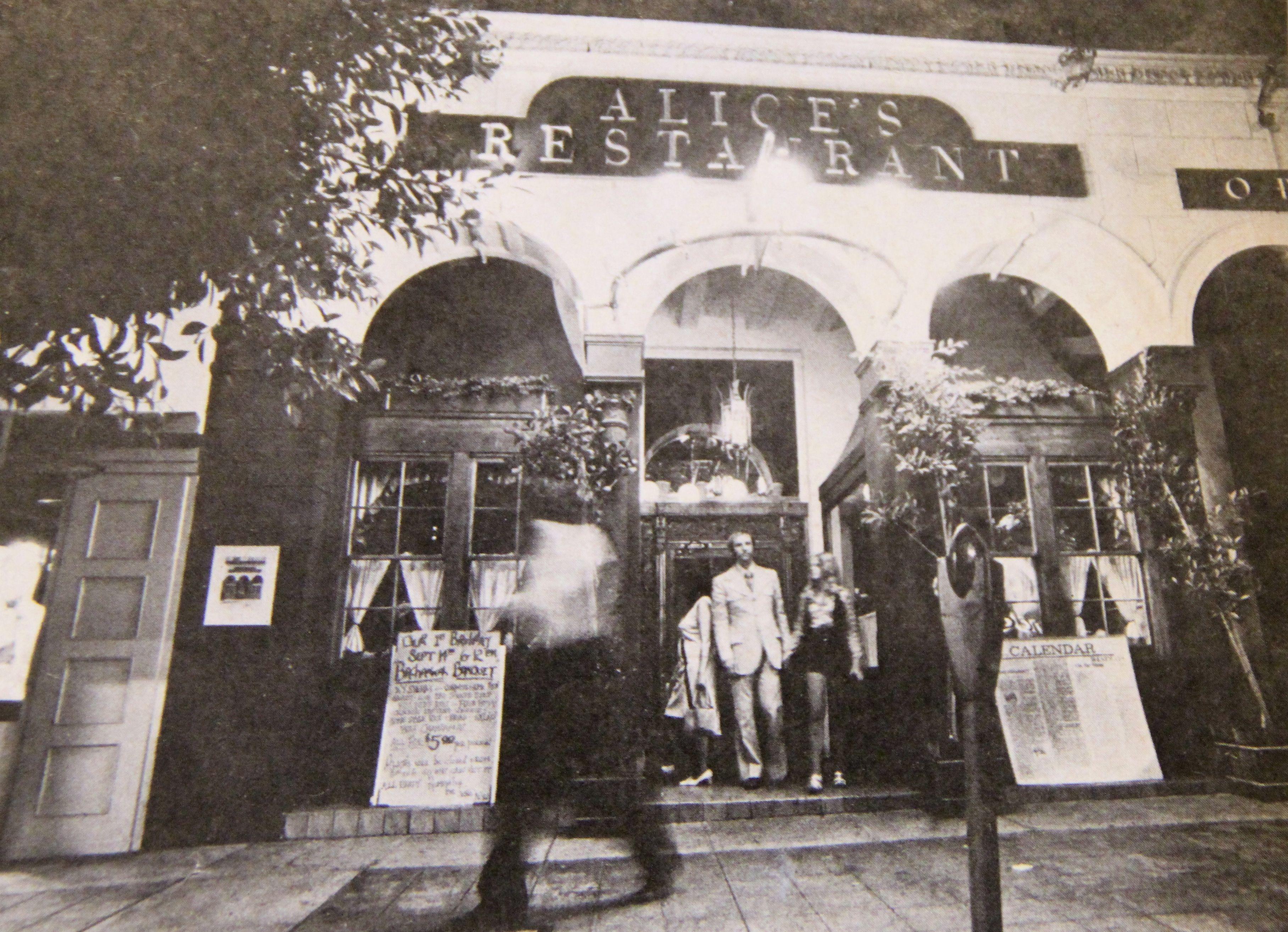 Alice's Restaurant in Westwood 1970 Vintage los angeles