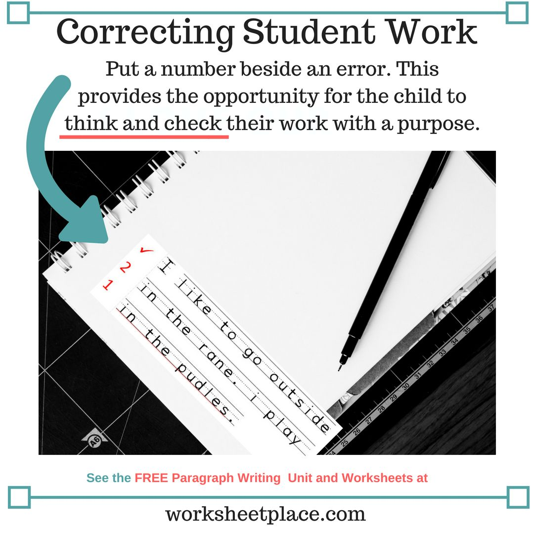 Enjoy The Free Paragraph Writing Worksheets For Grades 2 4