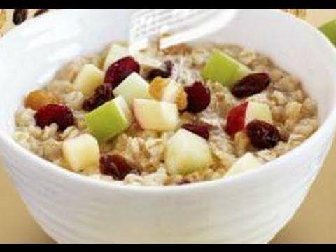 como hacer un desayuno saludable con avena