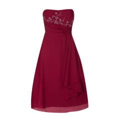 42503a305907f9 P C NIENTE - Cocktailkleid mit Stoffblüte - Peek   Cloppenburg Online Enge  Kleider