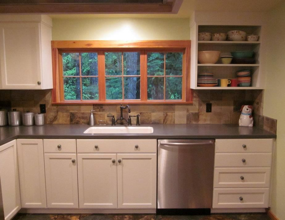 Attractive Small Kitchen Design Ideas Simple White Style For Cabinets Easy Window Design Simple Arrangement Kitchen Design Small Kitchen Design Kitchen Remodel