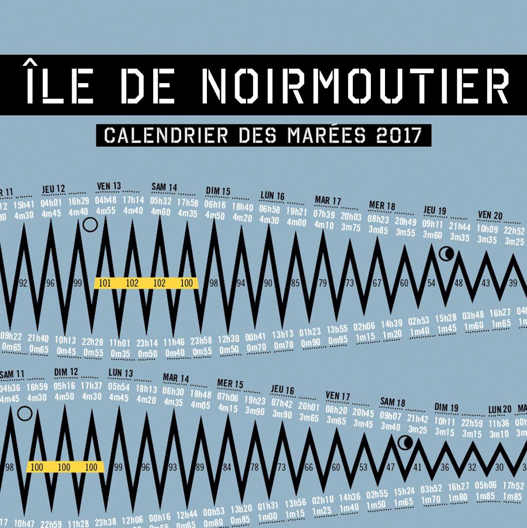 Calendrier Des Marées 2021 Noirmoutier Calendrier des marées nouveau look, nouvelle lecture. Objet