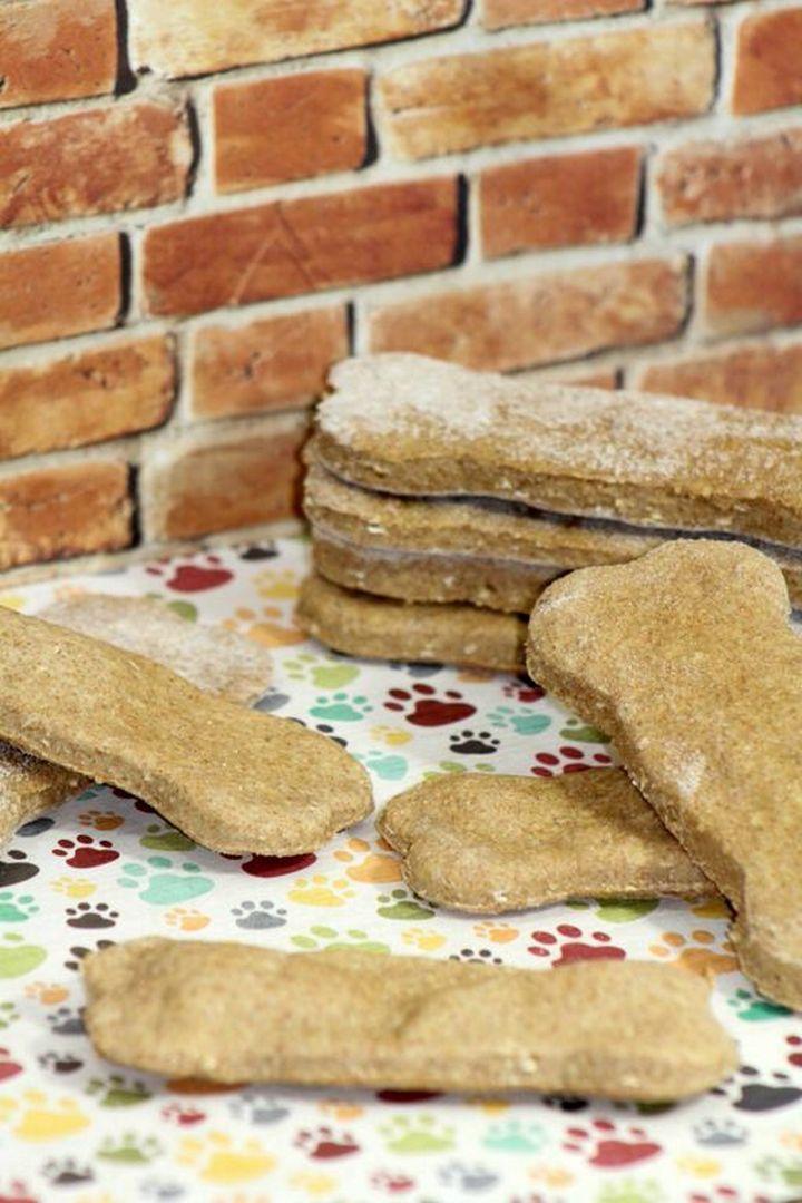 Hypoallergenic Dog Treats Coconut Peanut Butter Bones Recipe