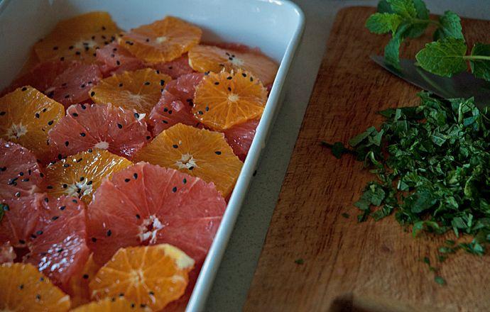 citrus og mynte  brunch ideer mad ideer madopskrifter