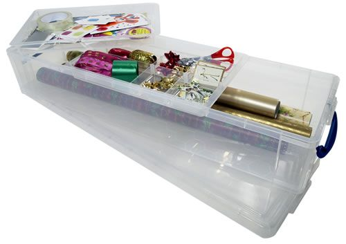 Wrapping Paper Storage Box Wrapping Paper Storage Plastic Box Storage Gift Wrap Storage