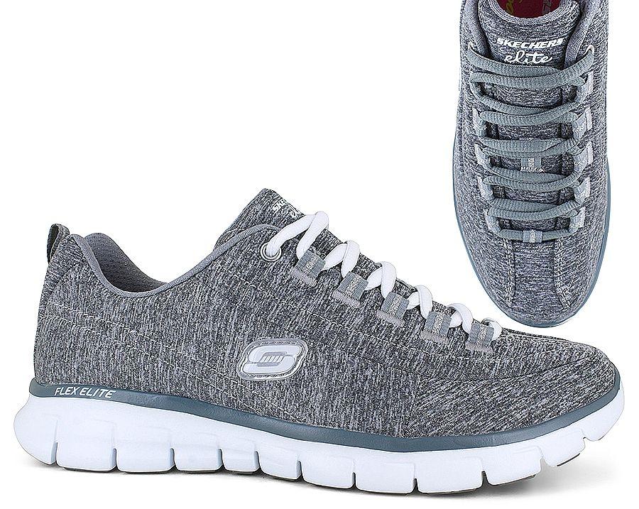 Skechers Elite 11863 | Gray | Womens | SHOE SHOW | Stock Number - 116195