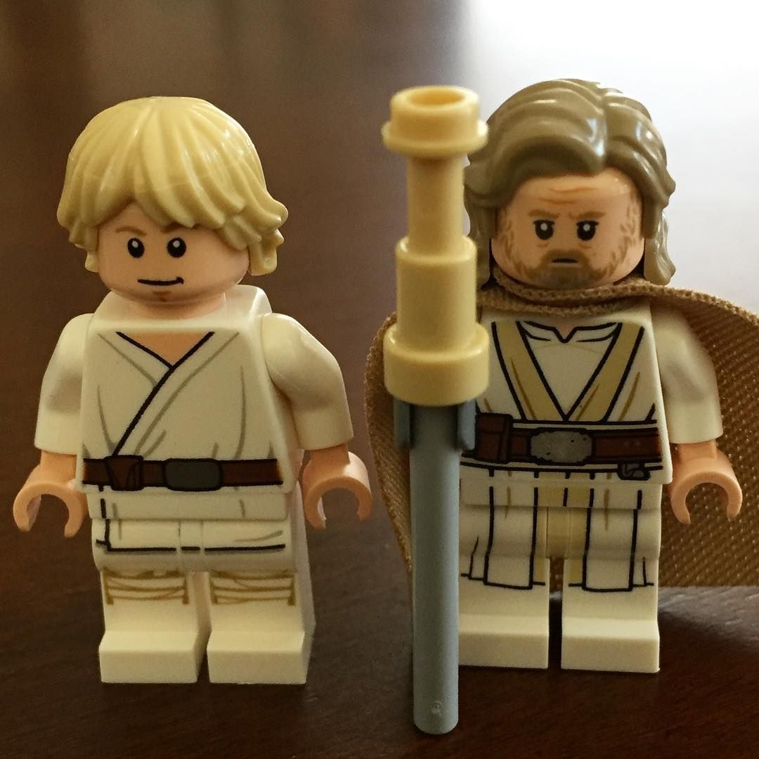 Luke Skywalker A New Hope The Last Jedi Lego Starwars Luke Legostarwars Jedi Jedimaster Skywalker Anewhope Lastjedi Legos Lego Disney