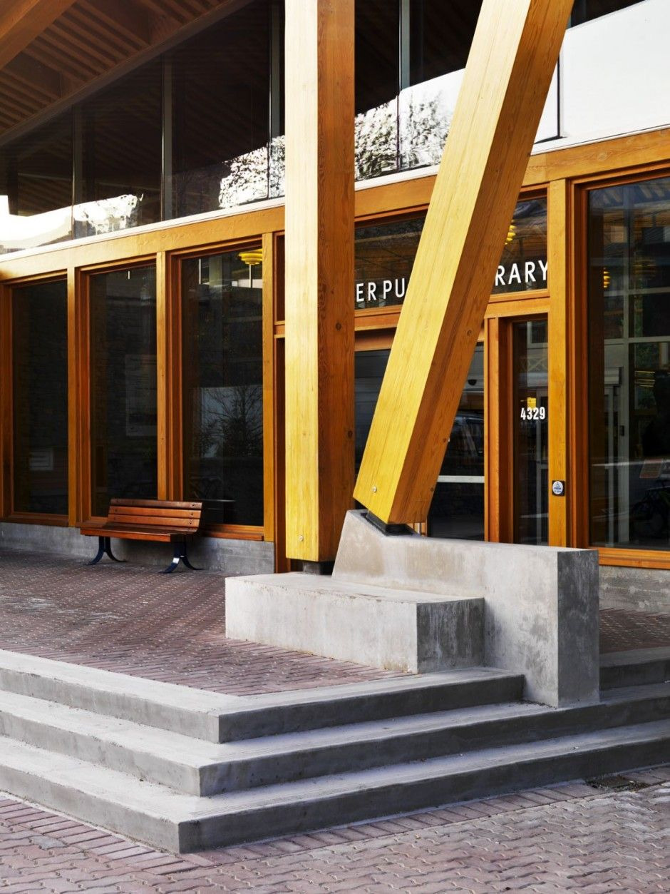 Whistler Public Library Design By Hughes Condon Marler Architects