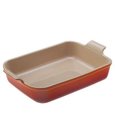 Le Creuset Le Creuset Stoneware Rectangular Baking Dish W Lid Stoneware In Meringue Size 15 L X 9 W X 3 25 H In 2021 Le Creuset Stoneware Creuset Baked Dishes