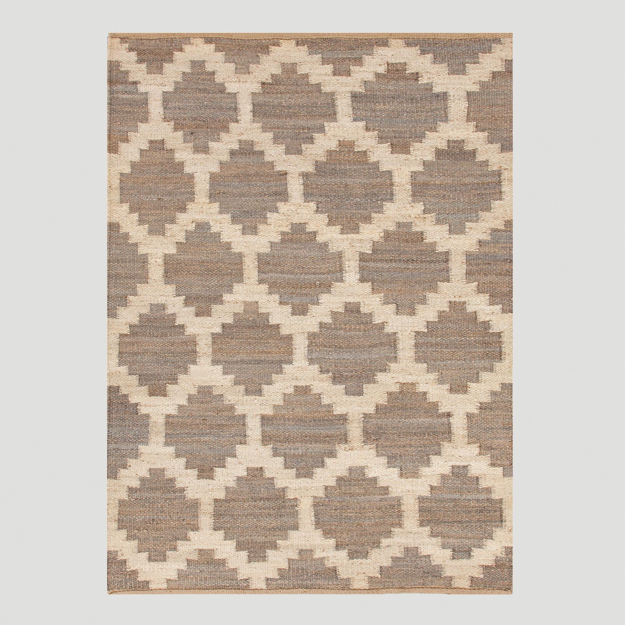 Rugstudio Presents Jaipur Rugs Feza Souk Medium Gray Flat Woven Area Rug