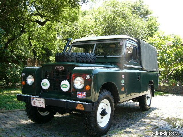 Land Rover Defender 109 Serie 2 A Pick Up En Todo Paraguay With
