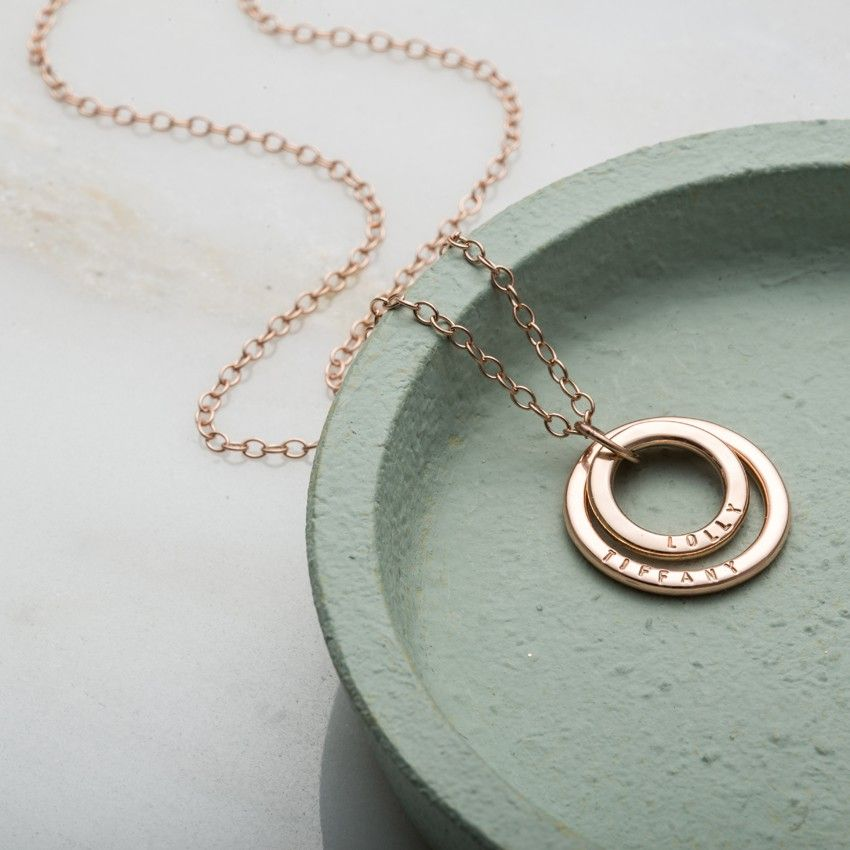 The beautiful personalised 9ct gold baby names necklace symbolises the beautiful personalised 9ct gold baby names necklace symbolises the special bond between mother and child aloadofball Image collections