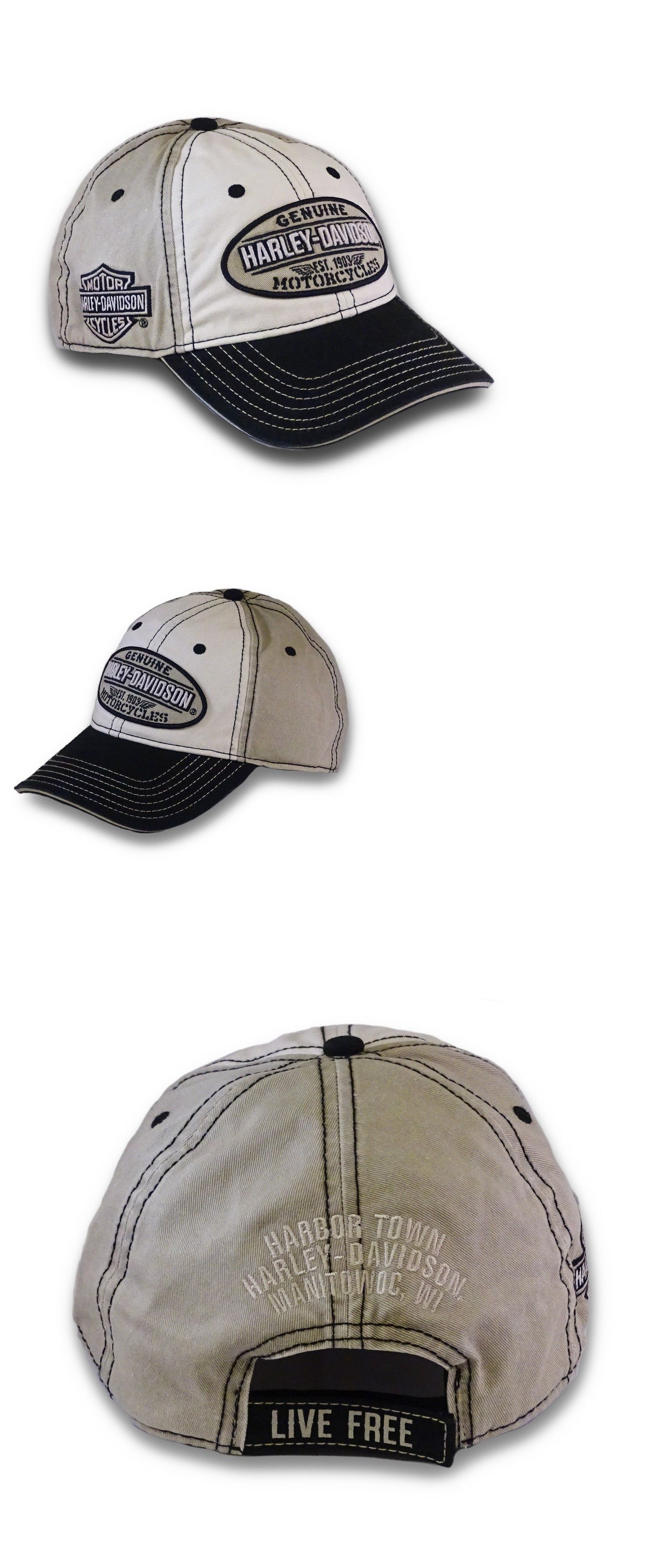 Hats 52365  Harley-Davidson Men S Embroidered Genuine Oval Washed Baseball  Cap Bcc21612 -  BUY IT NOW ONLY   24.25 on  eBay  embroidered  genuine   washed   ... 1bb9ffa04f83