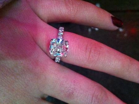 3.5 carat.. drool. band is too chunky for me though