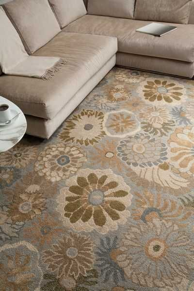 Floral Rug Area Definer For Game Room Portion Of Game Room Office
