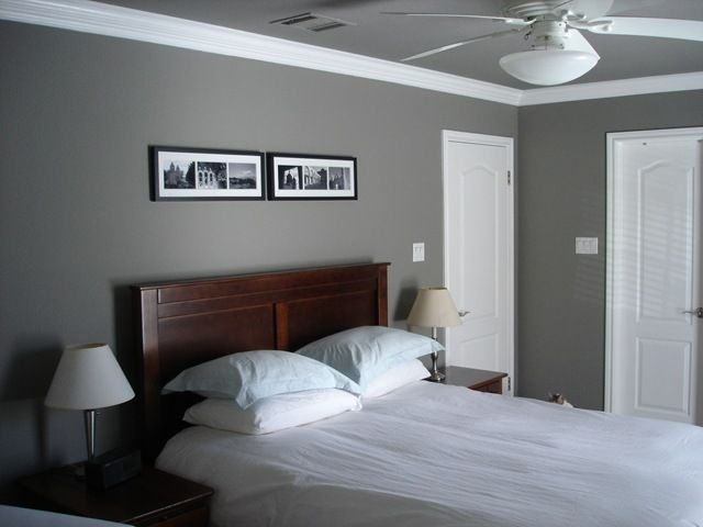 Guest Room Mini Makeover Sherwin Williams Gray Bedroom