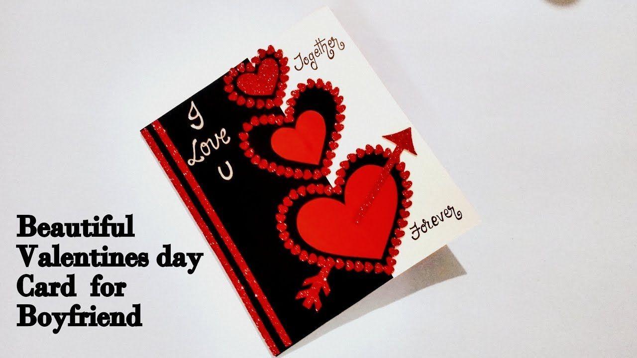 Beautiful Valentines Day Card For Boyfriend Special Valentine S