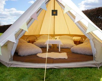 Featured listing image meter Bell tent Unique to the market not to big not too small.We call it our  in-betweener  double wall bug net & Bell tent Our newest offering -4.5 meter/ 14.76 feet Bell tent ...