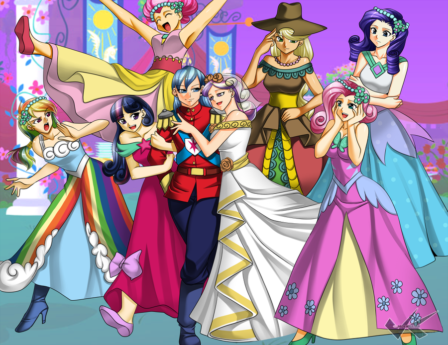 Mlp Royal Wedding My Little Pony Friendship Is Magic Fan Art Bridal Bridesmaid