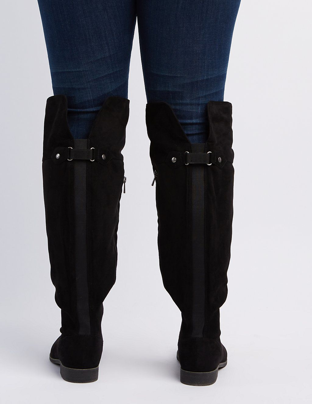 ba08dc778b2a Wide Width Flat Over-The-Knee Boots