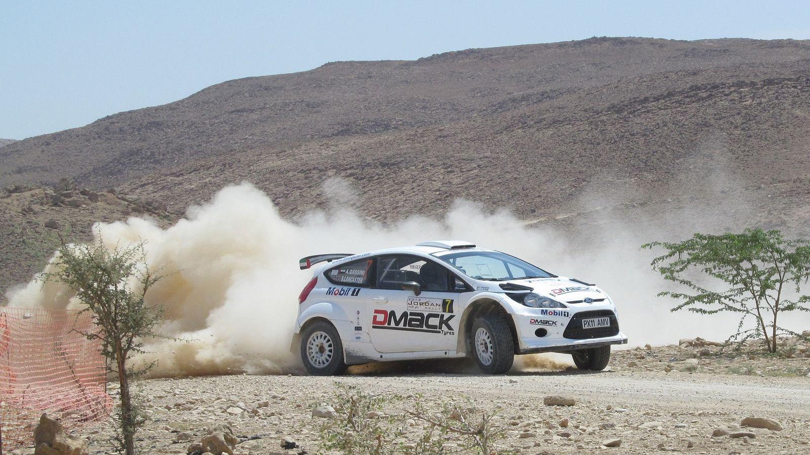 Shk. Abdullah AlQassimi Mount Nebo 1 Ford fiesta