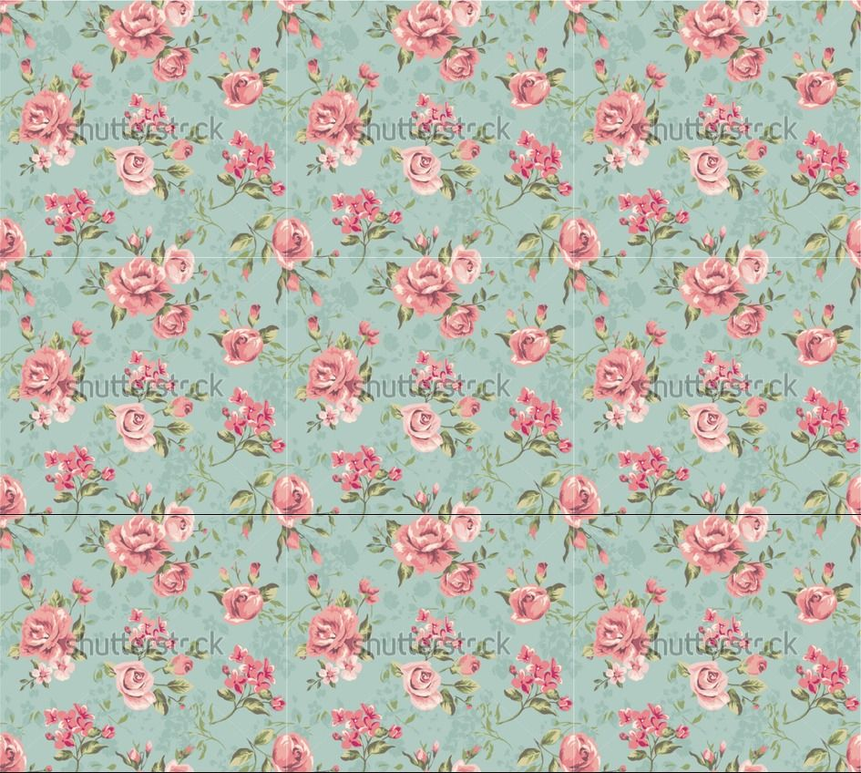 Tumblr floral background vintage for Wallpaper home vintage